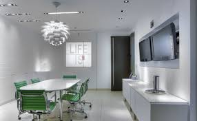 open office lighting design offices office partitions and modern office design on pinterest
