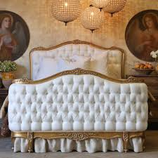 Twin Bed Headboard Footboard Delightful White Tufted Antique French Twin Beds Headboard And