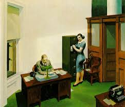 la nuit au bureau edward hopper 32 top disposition bureau chene massif inspiration maison cuisine