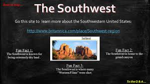 Map Of Southwest Usa States by Regions In The United States Ppt Video Online Download