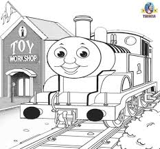 fabulous thomas the train printable coloring pages coloring page