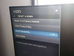 how to reset vizio tv your tv is probably tracking you here s how to stop it cnet