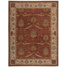 Area Rugs From India 5 X 8 Nourison Area Rugs Rugs The Home Depot