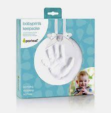pearhead baby handprint kits ebay