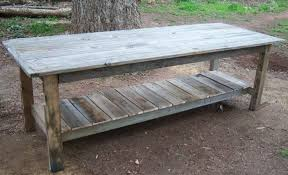 Wooden Tables And Benches Pallet Furniture U2022 Nifty Homestead