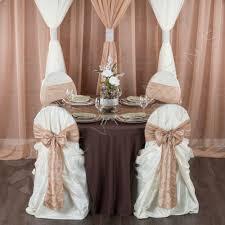 wedding backdrop linen sheer voile 10ft h x 118 w drape backdrop chagne cv linens