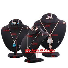 necklace earring display images Necklace display stand mannequin necklace earring ring holder jpg