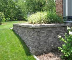 walls ideas retaining wall ideas for attractive garden landscape