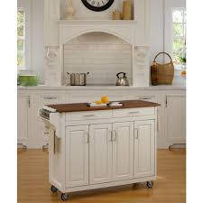casual home white kitchen island with solid wood top 373 91 the