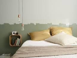 chambre gris vert chambre d artiste the déco