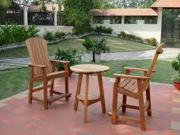 Patio Tall Table And Chairs Chic And Stylish Tall Patio Table U2013 Outdoor Decorations