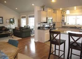 best open floor plans brilliant open floor plans for kitchen and living room with