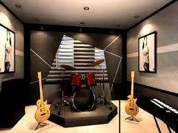 Basement Decorating Ideas Decorating Winsome Images About Music Room Rooms Upright
