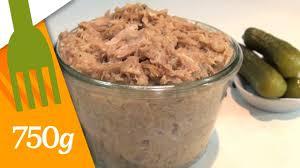 750grammes recettes de cuisine recettes des rillettes de porc maison 750 grammes