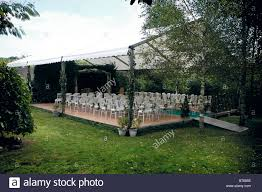wedding ceremony layout outdoor wedding ceremony layout stock photo royalty free image