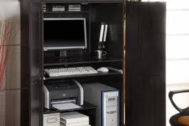 Corner Computer Armoire Small Corner Computer Armoire