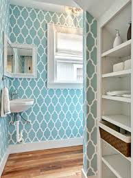 wallpaper bathroom ideas bathroom design ideas seashell vinyl wallpaper designs for