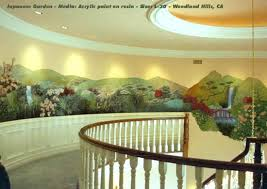 painted wall murals and painted wall sculptures