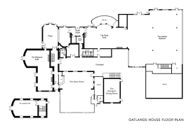 Party Floor Plan by The Lobby Oatlands House