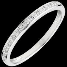alliances de mariage alliances mariage alliances or blanc diamant edenly