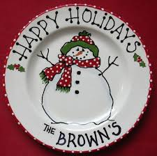christmas plates best 25 christmas plates ideas on sharpie plates