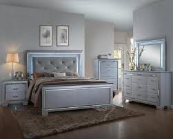 Led Bed Frame Led Lighting Bed Set B7100 Cr Instock Furniture