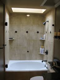 Tub With Shower Doors Shower Enclosures