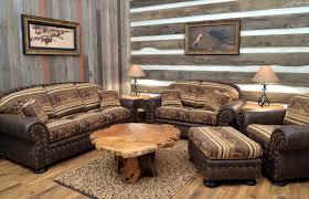 Southwestern Style Beautiful Southwestern Living Room Furniture U2013 Rustic Leather Sofa