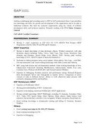 Sap Mm Resume Sample For Freshers by Sap Sd Support Best Free Resume Collection