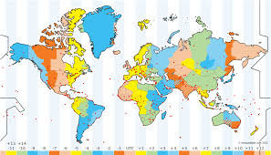 about the time zone map
