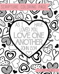 valentine coloring page printable bible ideas pinterest