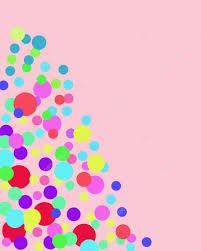 imagenes abstractas con circulos colores de fondo abstracto con círculos brillantes sobre fondo rosa
