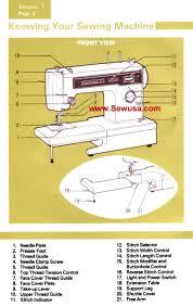 kenmore model 1251 instruction manual kenmore 158 12511