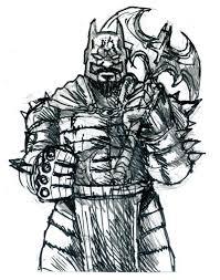 medieval batman sketch by doomcmyk on deviantart