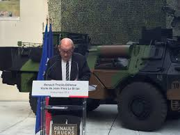 volvo truck brands french minister of defense visits renault trucks defense defence