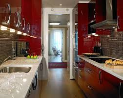 Crown Point Kitchen Cabinets Flooring Galley Kitchen Ideas With Wood Flooring And Antique