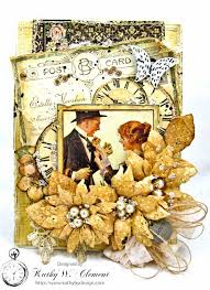 Shabby Chic Projects by Adore Shabby Chic Wedding Card Kathy By Design