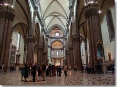 Cathedral Interior The Duomo Cathedral Of Florence Italy