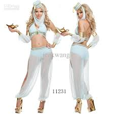 Halloween Costumes Sale Lingerie Belly Dancer Arabian Princess Jasmine Halloween
