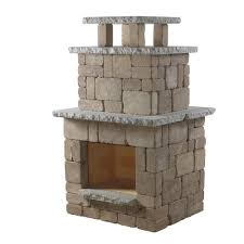 necessories santa fe compact outdoor fireplace 4200040 the home