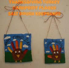 thanksgiving turkey handprint salt dough craft cool kiddy stuff