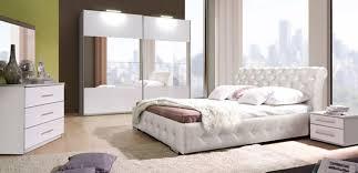 chambre à coucher chambre a coucher blanche blanc laqu id es de conception