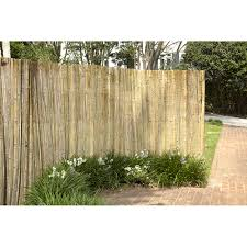 Willow Fencing Lowes by Outdoor Rolled Bamboo Fencing Lowes Bamboo Panel Fence Bamboo