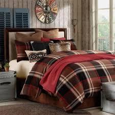 Plaid Bed Sets Plaid Comforter Set For Sets Less Overstock Decor 18