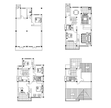 house plan layout free 2d cad models ideas for the house