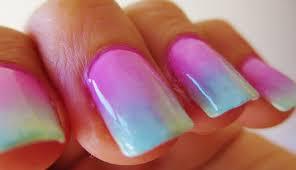 tutorial ombre nails