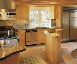 unique kitchen island for unique l shaped cooking space idea