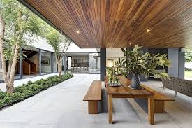 outdoor courtyard dream houses central courtyard of the residence with an outdoor