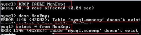 T Sql Drop Table If Exists Mysql Rename Truncate And Drop Table Statements In Php