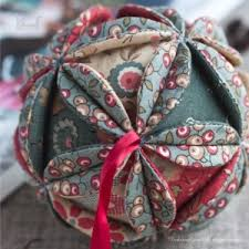 diy russian fabric vintage ornament
